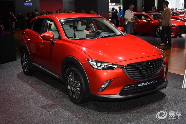 马自达CX-3部分配置曝光 或售13-16万/广州车展上市