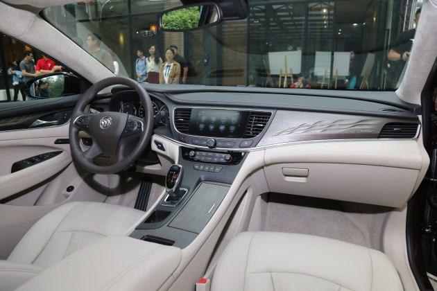 别克君越Avenir车型在广州正式亮相 定位豪华车