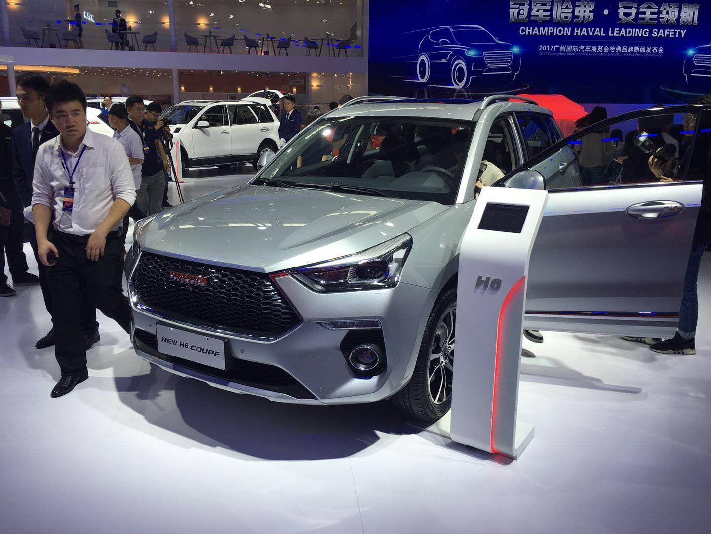 2017广州车展:全新哈弗H6 Coupe亮相