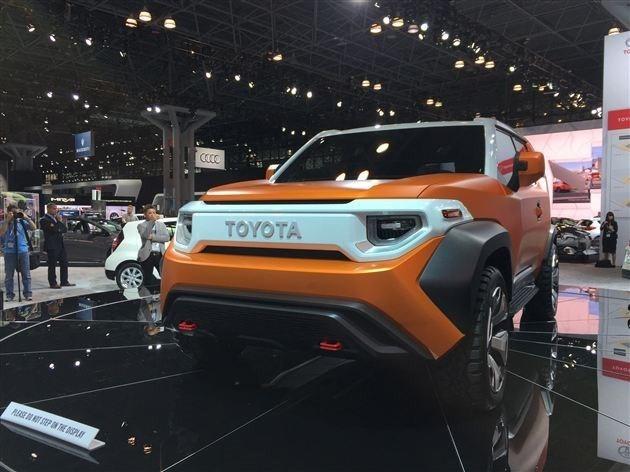 此前发布的丰田FT-4X概念车