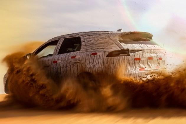比亚迪全新SUV谍照曝光 全新家族设计/或2018年上市