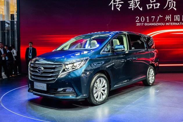 广汽传祺GM8将于12月30日上市 预售18-27万元