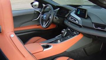 宝马i8 Roadster 细节实拍