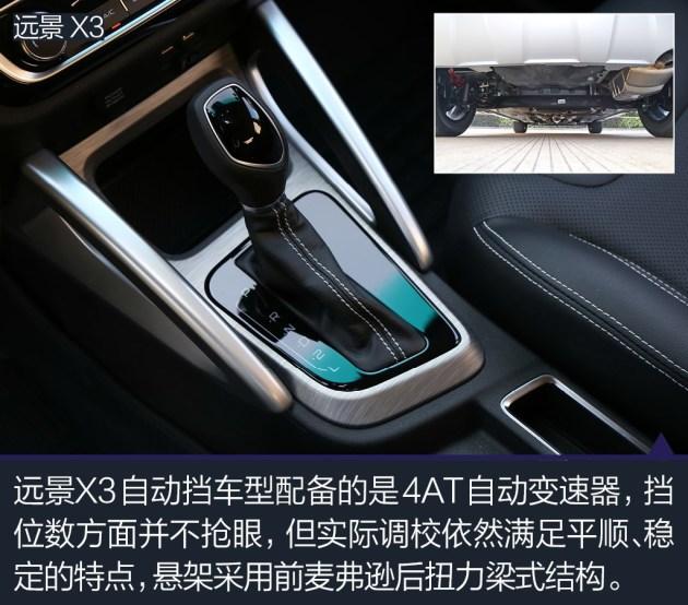 远景X3是4款车型中最新的车型,上市不到4个月,单月销量已经突破1万台,足可见它在各项产品力方面都能够满足现阶段消费人群的需求。在车型品质感方面的突出表现,是远景X3相比其它3款车型的最大优势,针对细节部分的精心处理和把控,能够在日常用车时给你带来更多的舒心感受。此外,远景X3售价仅为5.09-6.59万元,相比其它3款车型,也显得相当划算。
