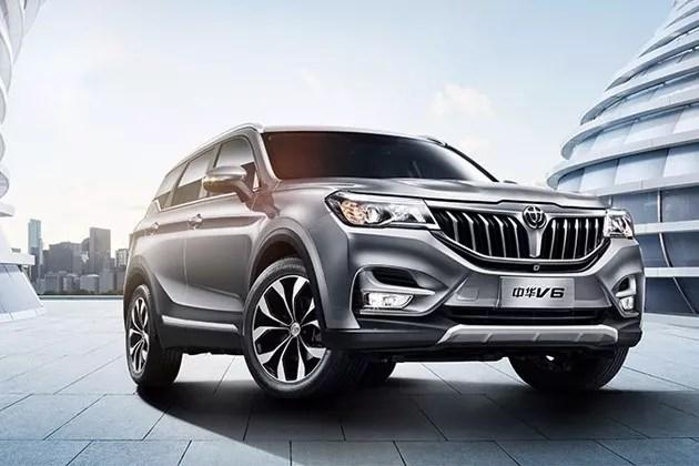第一现场|中华V6领衔 华晨中华2018迎产品大年