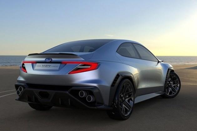 外观上,该车保留着斯巴鲁现款在售的WRX多种设计语言,引擎盖上的进气口依旧很有型,前进气格栅也没有使用全封闭式。
