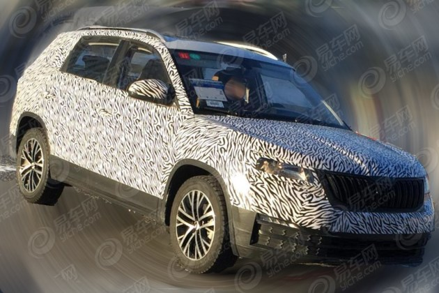 斯柯达全新紧凑级SUV谍照曝光 或为Model Q