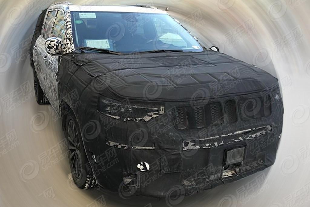 国产Jeep大指挥官动力信息曝光 2.0T+9AT/高功率版配四驱