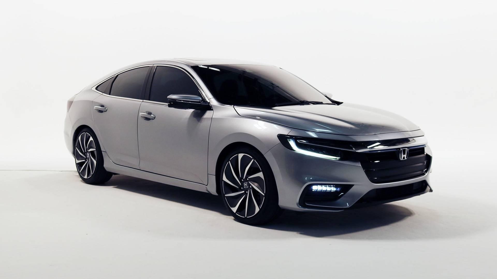 本田新一代Insight官图发布 2018底特律车展亮相