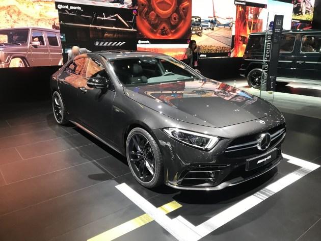 2018北美车展:奔驰全新CLS 53 AMG亮相 采用混合动力系统