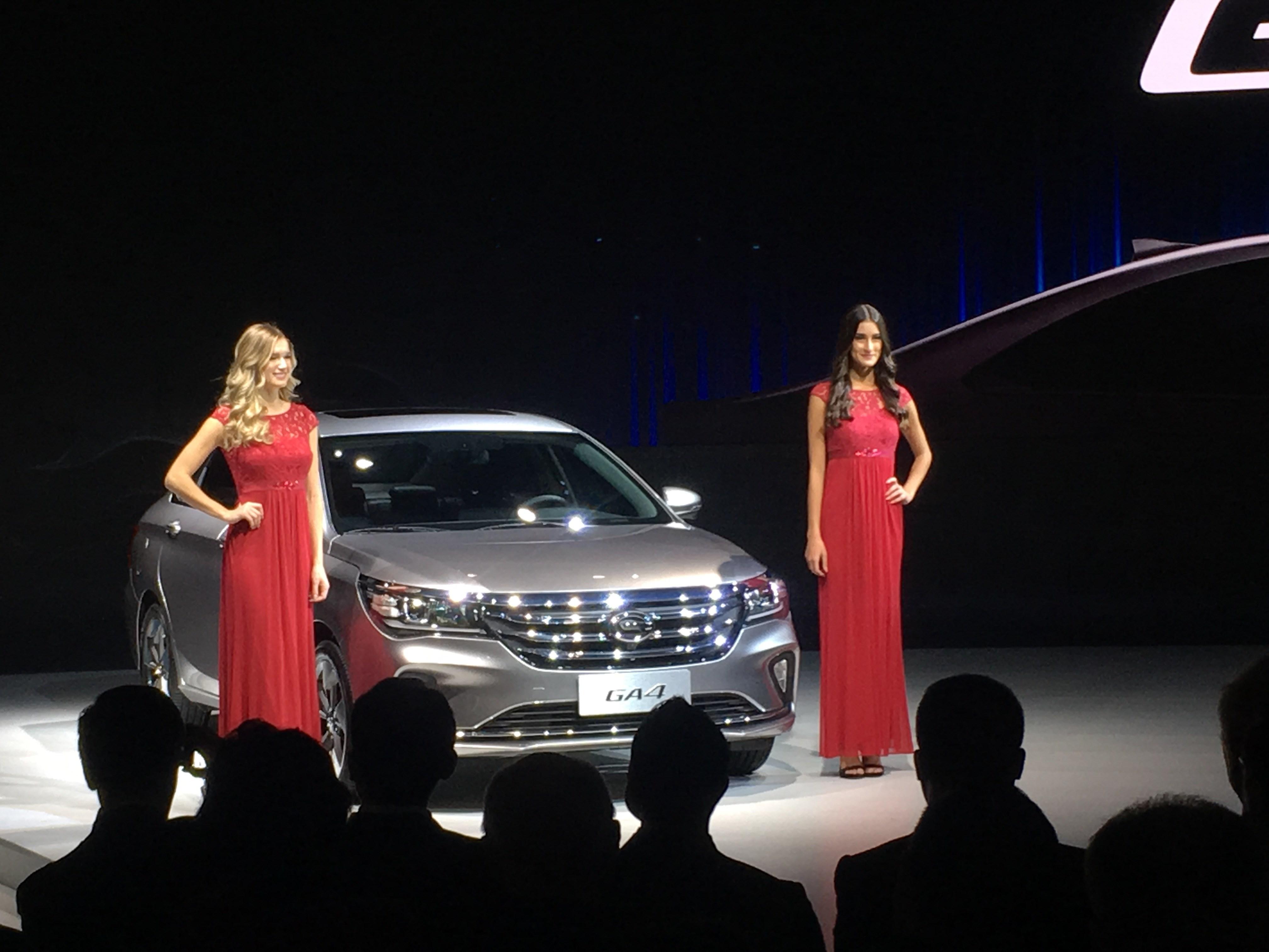 2018北美车展:广汽传祺GA4亮相 搭载1.3T/1.5L两款动力