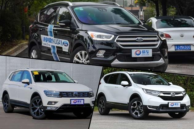 福特翼虎/CR-V/途观L三车硬碰硬 谁才是年轻消费者的最爱?