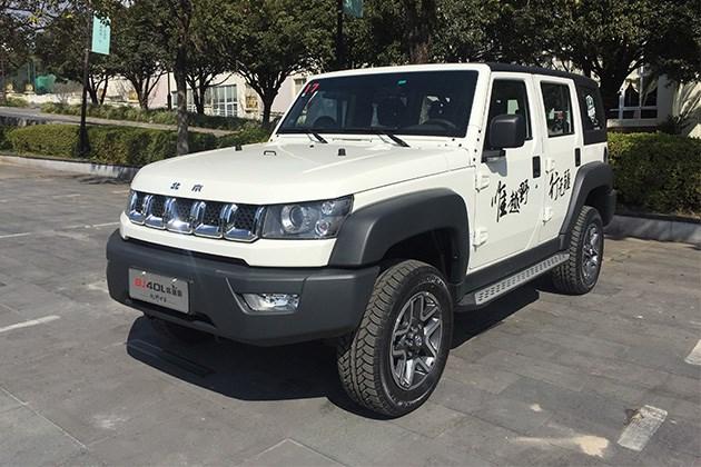 北京40系列柴油版正式上市 售价15.99万元