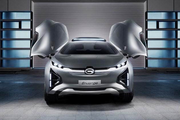 不仅有鸥翼门还可声控 趣味解读广汽Enverge概念车