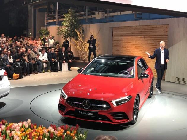 全新一代奔驰A级正式发布 全新设计/配置提升 年底国内上市
