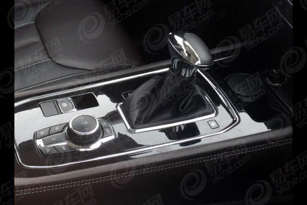 东风风光580运动版谍照 定位全系顶配车型
