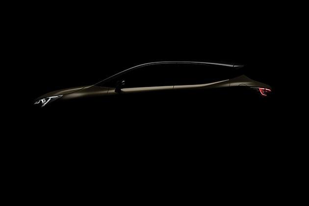 丰田全新卡罗拉掀背版预告图 或于日内瓦车展发布