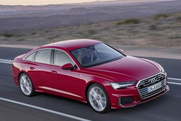奥迪全新一代A6官图提前泄露 造型更为运动/日内瓦车展发布