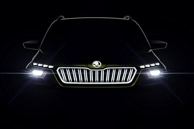 斯柯达发布Vision X概念车预告图 日内瓦车展亮相