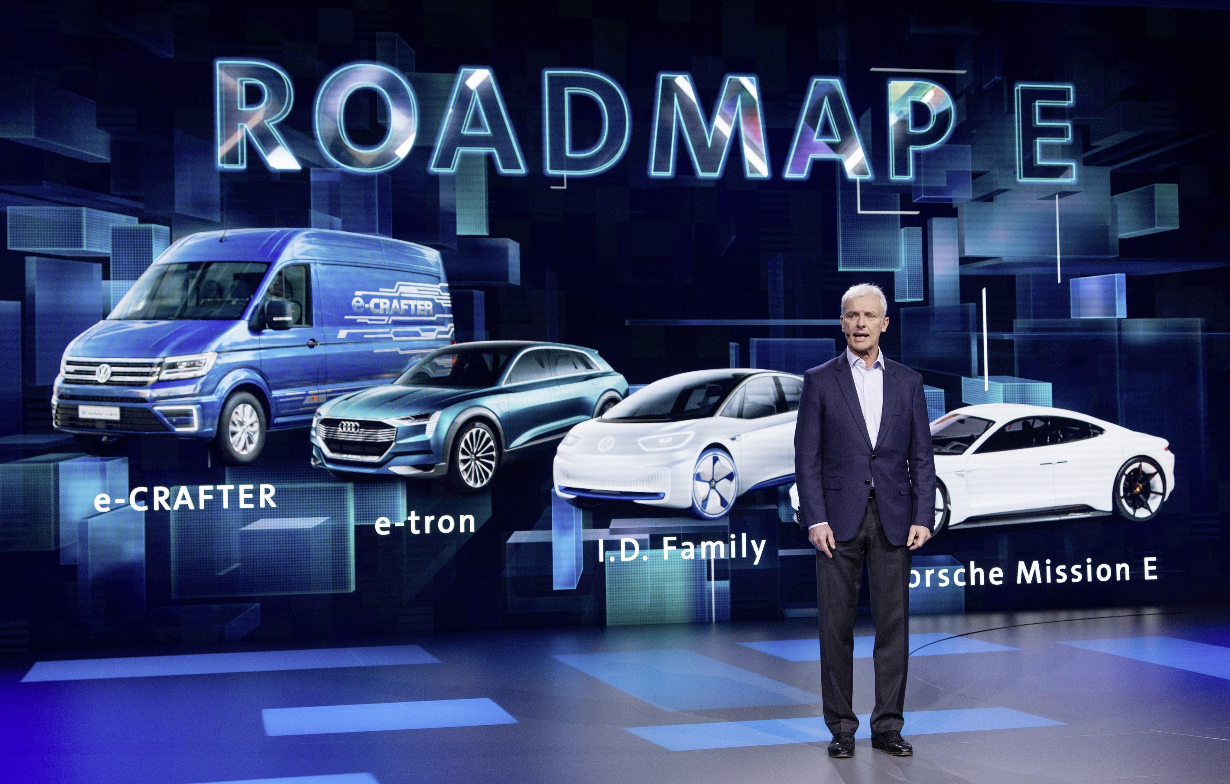穆伦:大众今年推11款新电动车 到2022年向未来出行投340亿欧