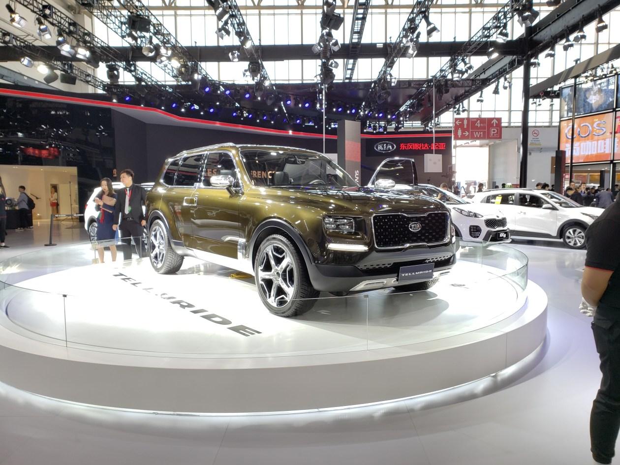 2018北京车展:起亚Telluride概念车亮相 后驱平台打造