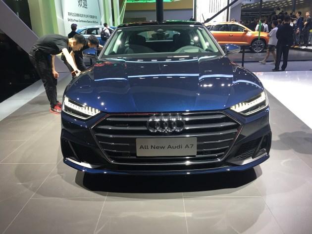 奥迪全新A7在中国将开启预售 售价81万-88万元