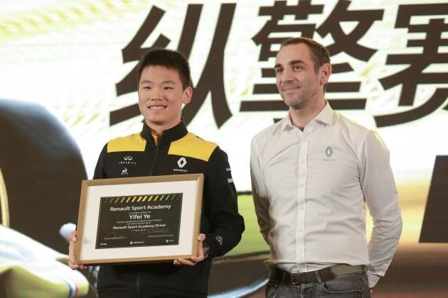 """纵""""擎""""赛道挑战不止 雷诺F1车队""""擎""""动上海"""