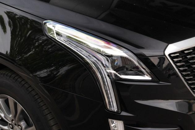 凯迪拉克XT5国VI版实车曝光 外观微调/可变缸带念头加持