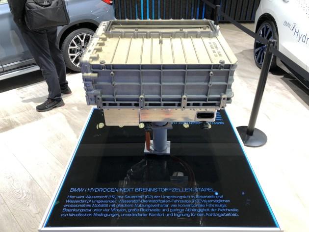 BMWX 5氢燃料电池概念车亮相2019法兰克福车展