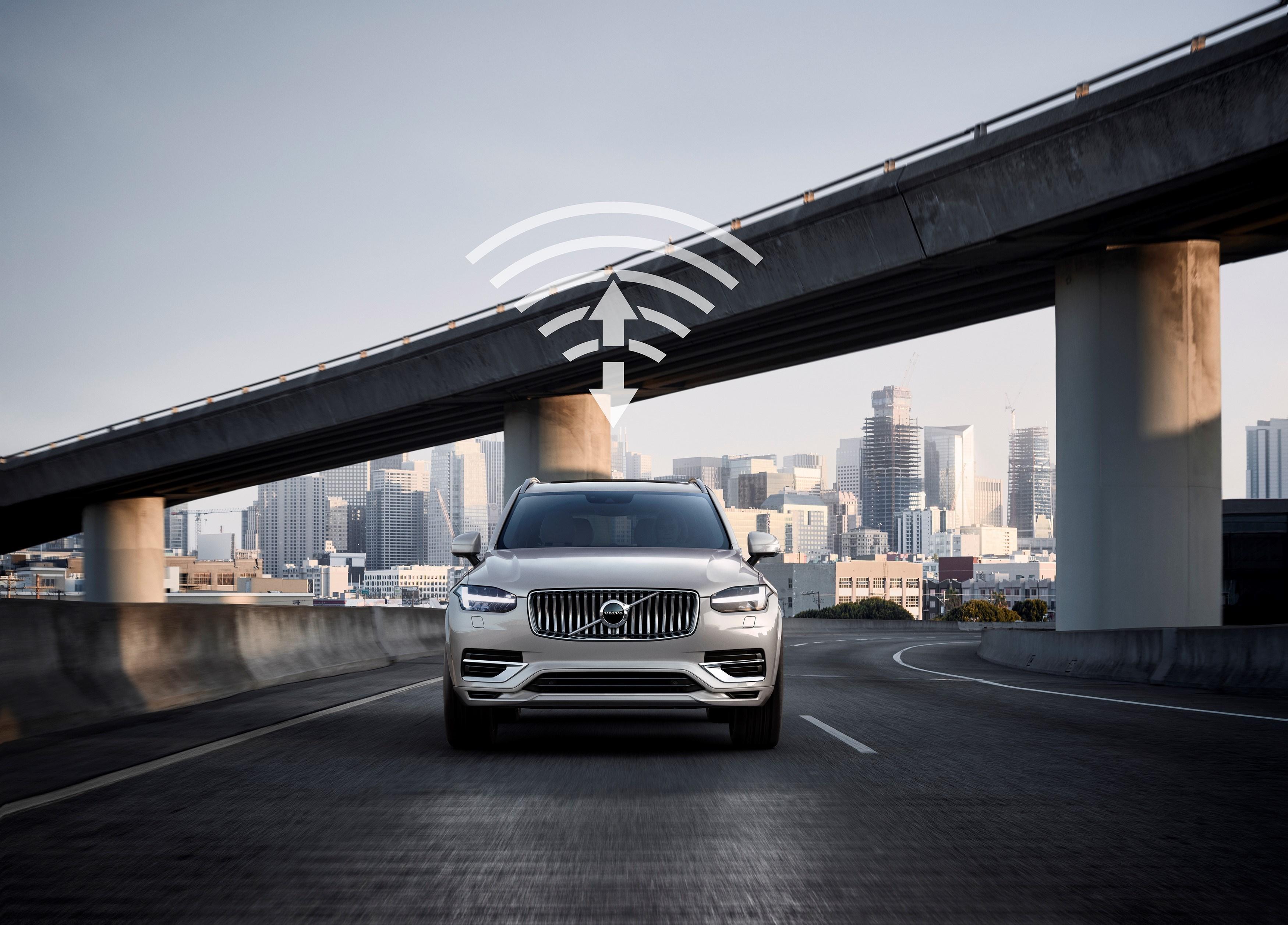 当自动驾驶联通5G 沃尔沃以新四化驱动