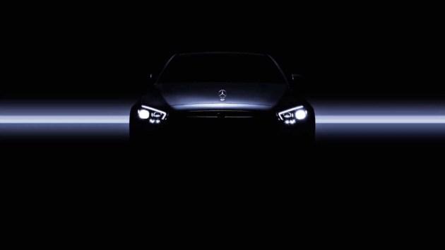 日内瓦车展新车:奔驰中期改款E级车将在4天后发布