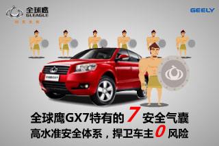 全球鹰GX7 高水准安全体系