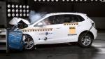 L-NCAP碰撞测试 大众POLO获五星安全