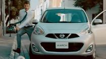 日产玛驰城市小车 动力充沛配置丰富