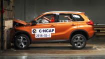 C-NCAP碰撞测试 长安铃木维特拉获5星