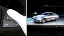全新一代奔驰E级 多波束LED大灯展示