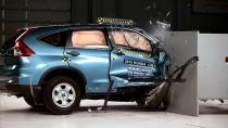 2015款本田CR-V乘客侧 IIHS正面25%碰撞