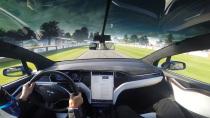 特斯拉Model X 速度节360度感官体验