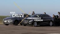 科鲁兹vs竞争对手 湿滑路面稳定性测试