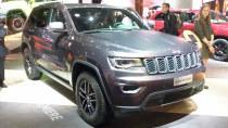 2016巴黎车展 Jeep大切诺基Trailhawk