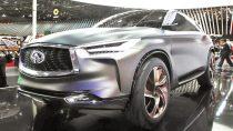 2016巴黎车展 英菲尼迪QX概念车登台