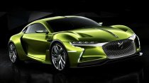 DS E-Tense 纯电动四驱碳纤维概念车