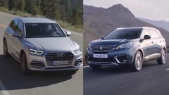 豪华SUV 2017款奥迪Q5对比标致5008