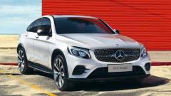 全新奔驰GLC轿跑SUV上市 售价49.6万起