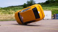 2018款沃尔沃XC60 翻滚碰撞测试