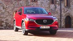 2017款马自达CX-5 采用灵魂红水晶配色