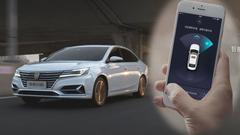 荣威ei6上市 配智能遥控驾驶功能
