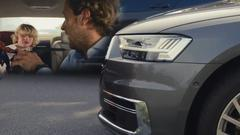 全新一代奥迪A8 配备AI自动驾驶系统