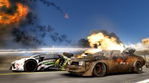《燃油机车:极限版》 战斗竞速游戏
