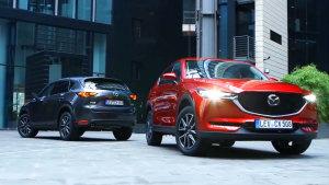 2017成都车展 全新马自达CX-5或将上市